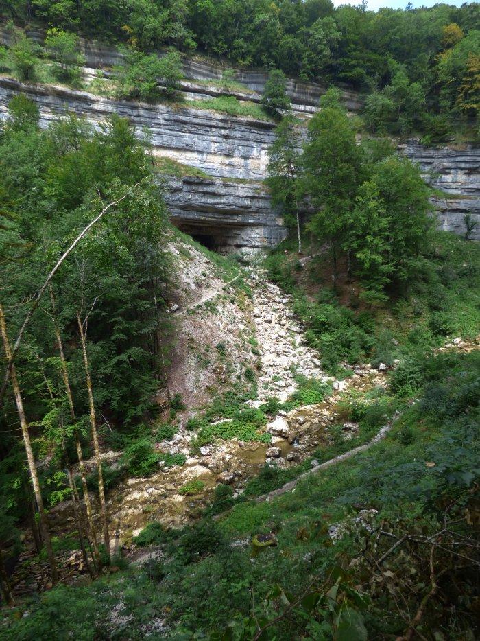 Grotte Lacuzon du Hérisson (cc) Stéphanie BLYON